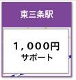 東三条駅発9:40 東三条駅着16:40