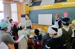 見附市立新潟小学校5年 食育授業1