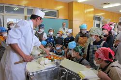 見附市立新潟小学校5年 食育授業4
