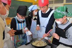 見附市立新潟小学校5年 食育授業7