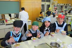 見附市立新潟小学校5年 食育授業8