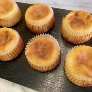 流行りのバスク風チーズケーキをOCで作りました🧀💕