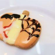 長岡南中学校の3年生とハロウィンクッキーを作りました🎃センスが輝いています✨
